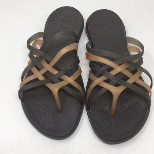 Crocs Sandals Size 9 Wide